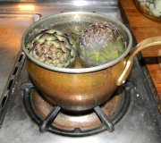 Artichokes_cooking
