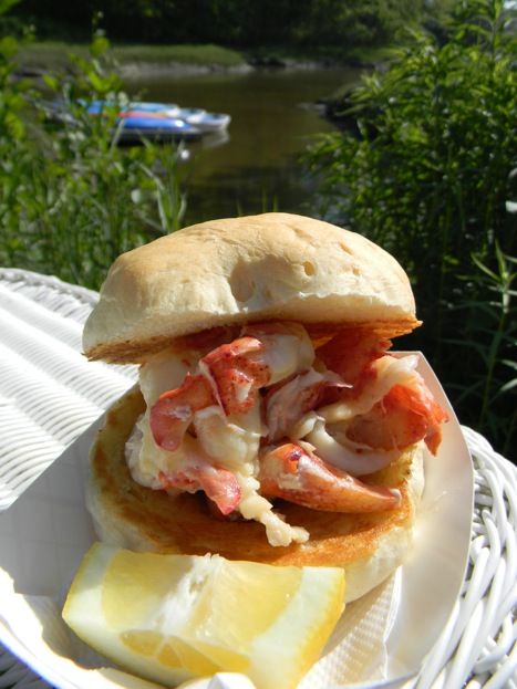 Lobster roll Lobster  Shack