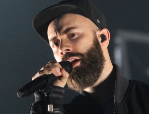 Yoann Lemoine also known as Woodkid, performs at the Montreal Jazz Festival, 2014.