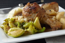 Braised_Chicken_maple_brussel_sprouts