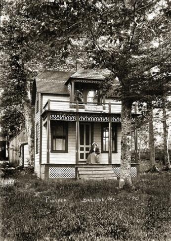 Pioneer Cottage, Bayside ME