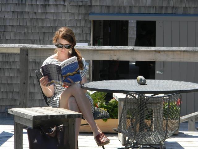 Sarah at Haystack