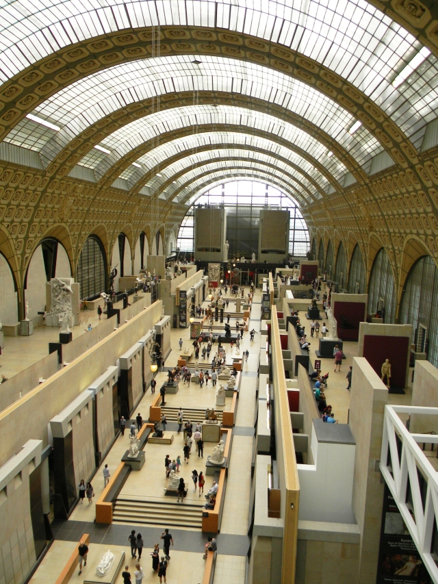 Looking down into d'Orsay II