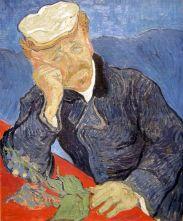 Paris Musee D'Orsay Vincent van Gogh 1890 Portrait of Dr. Gachet