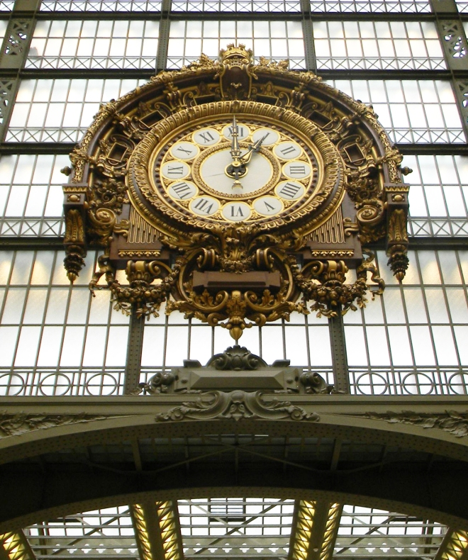 Clock d'Orsay brightened MORE
