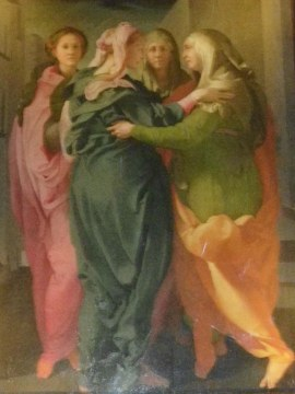 Annunciating by Pontormo
