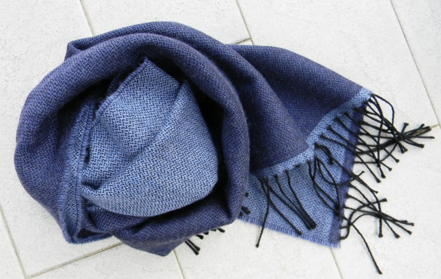 Blue scarf from Sr. Franco