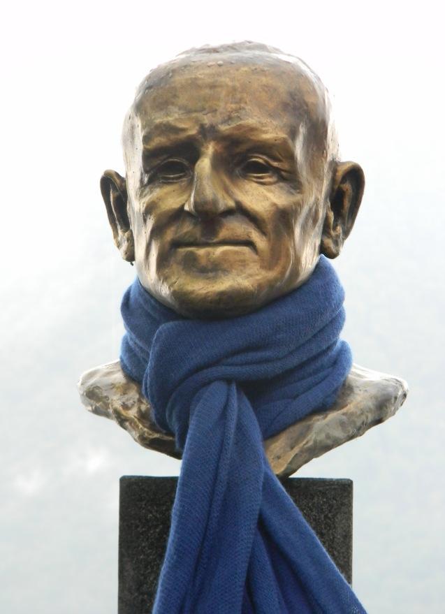 Pietro in blue close-up