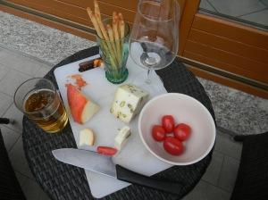 Terrace cocktails