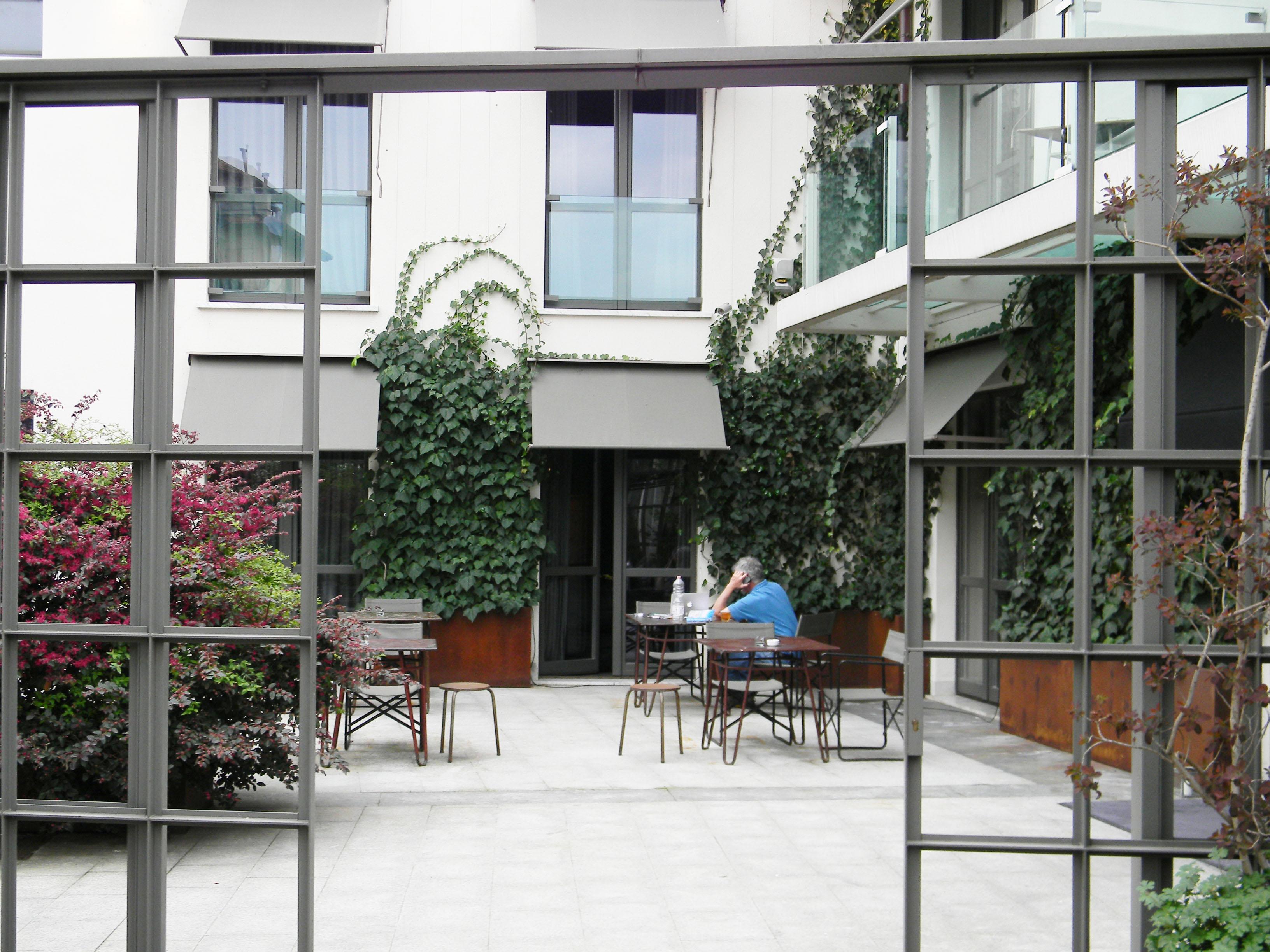 Hotel Borgo Nuovo : Courtyard at hotel borgo nuovo epicurioustravelers