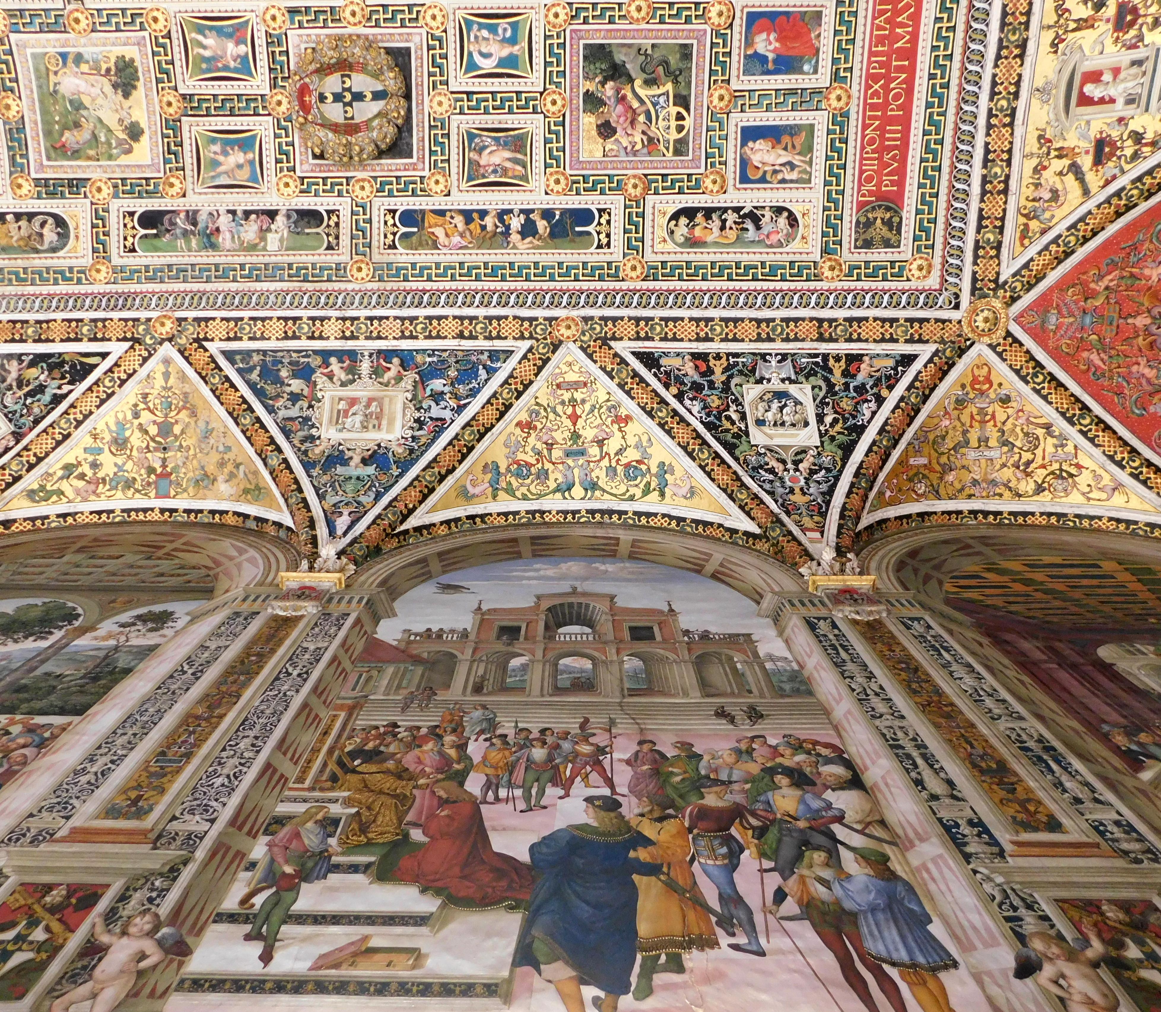 Ceiling Santa Maria della Scala